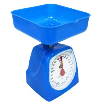 Harga Accurate 5 Kilos Nops Kitchen Scale (Blue)