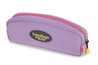Schoolbags for Kids Pencil Case (Purple) Price Philippines