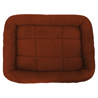 Harga Pet Bed Cushion Mat Pad Dog Cat Cage Kennel Crate Warm Cozy Soft House (Coffee) (S) - intl
