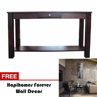 Harga Hapihomes Serenity Console Table WENGE FREE Forever Wall Decor
