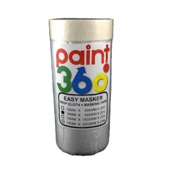 Harga PAINT360 Easy Masker Tape with Dropcloth 900mm