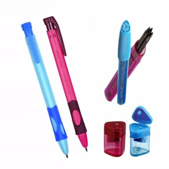 Harga STABILO Right Retractable Pencil plus Left & Right Lead plus Right Sharpener