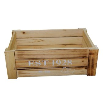 Harga Wooden Organizer Crate Medium 37x25x13