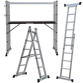 Harga Multi-purpose Scaffold Ladder SL-206 (Silver)