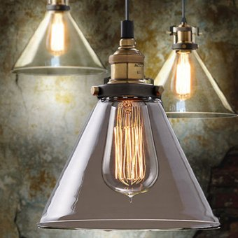 185mm Retro Vintage Loft Pendant Light Lamp Ceiling Industrial Glass Shade Price Philippines