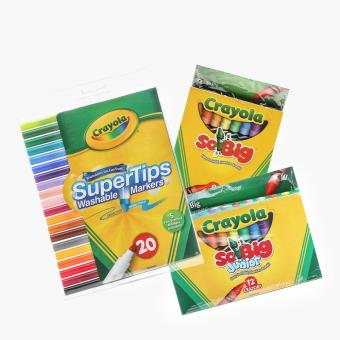 Harga Crayola Colors and Marker Set