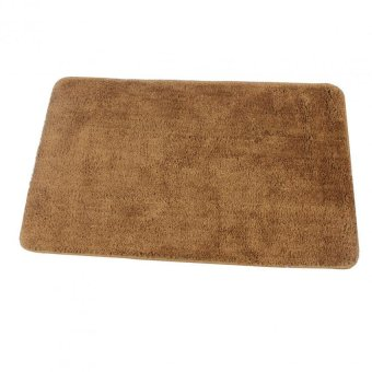 Bathlux Non slip Soft Absorbent Floor Mat Door Mat Bath Mat (Brown) Price Philippines