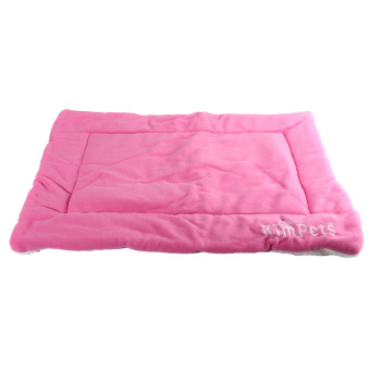 Harga Dog Crate Mat Kennel Cage Pad Bed size XL (pink)