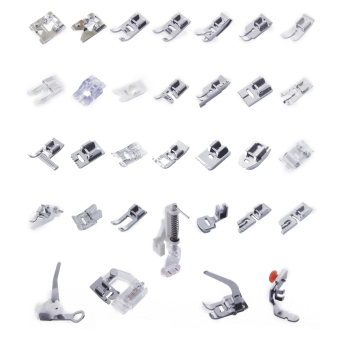 Harga BolehDeals 32 Sewing Machine Presser Foot Feet Kit fit for Brother Singer Janome