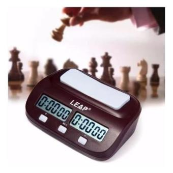 Harga LEAP PQ9907s Digital Chess Clock Count Up Down Timer(Red)