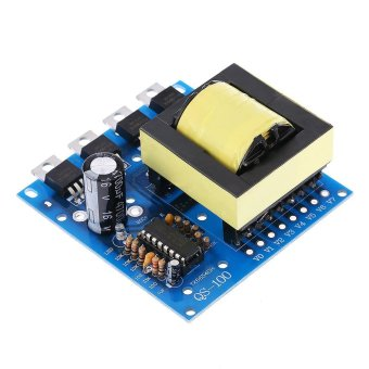 Harga DC-AC Converter DC12V to 220V 380V 18V AC 500W Inverter Board Transformer Power - intl