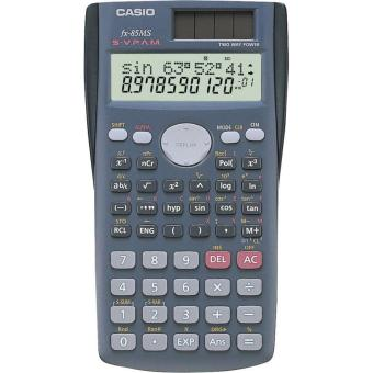 Harga Casio Scientific Calculator FX-85 2 Line Display Multi Replay 240 Function- FX-85 2