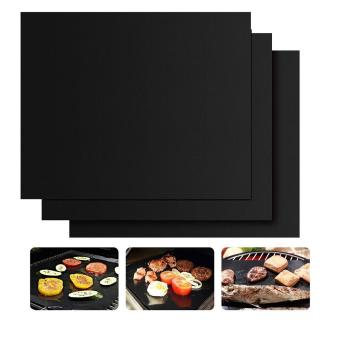 niceEshop Set of 3 Non-Stick BBQ Grill Mat Works on Gas,Charcoal,Electric Grills Heat Resistant Barbecue Sheets For Grilling Meat, Veggies, Seafood Price Philippines