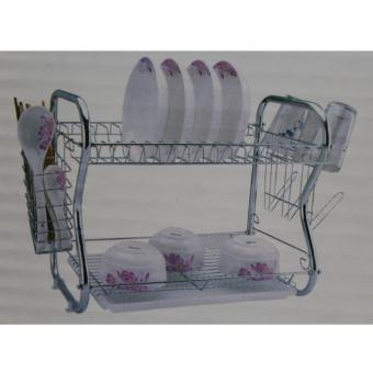 8051 Sanli Chrome Plated 2 Layer Dish Organizer Price Philippines