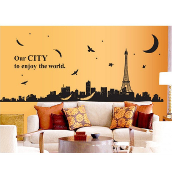 Harga Wallmark Our City Wall Sticker