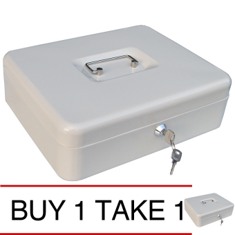 iSAFE CB-M Steel Safety Cash Storage Box (Beige) Buy 1 Take 1 Price Philippines