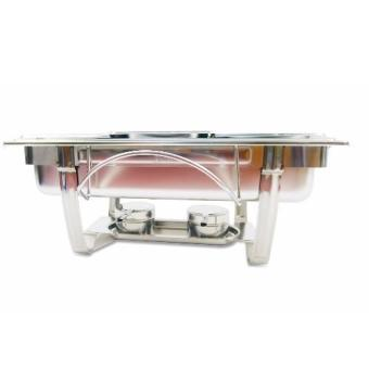 Harga Stainless Steel Chafing Dish Kaiser Hoffman w/ 3 Division GW833B-3 425427