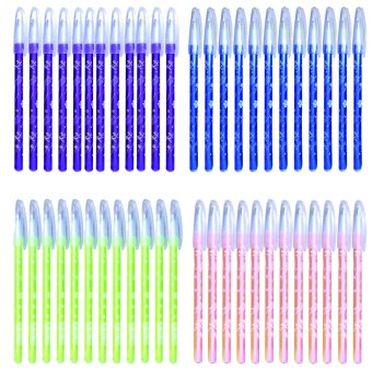 Harga U-Smart Ball Point Pen 0.7mm -09 Set of 48 (Violet,Blue, Green & Pink)