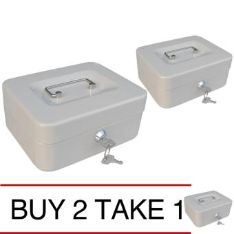 iSAFE CB-S Steel Safety Cash Storage Box (Beige) Buy 2 Take 1 Price Philippines