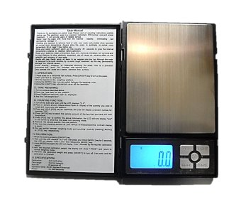 Raffles Notebook Portable Digital Weighing Scale 2000g x 0.1g (Black) Price Philippines