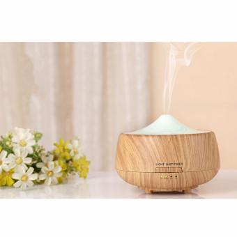 Ultrasonic Oil Diffuser 250ml Aromatherapy Humidifier Diffuser Colorful Lights Candle Diffuser Timing Oil Nebulizer for Hotel, Party - intl Price Philippines