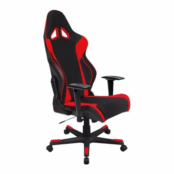 Harga Optimax Model PJT-OCH026 Gaming Chair with Arm Rest and Gas Lift (Red)