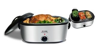 Imarflex IRO-2200S 22qt Roaster Oven With Buffet Server
