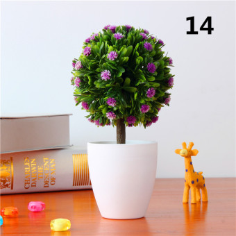 Indoor plastic model bonsai plant small pot plant ornaments