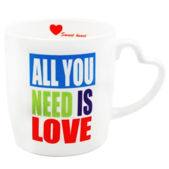 "Inspire ""All You Need Is Love"" Mug (White)"