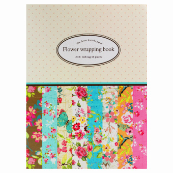 INSPIRE Elegant 16 Semi Gloss Patterned Papers Sheets CreativeScrapbooking Paper Pack #6