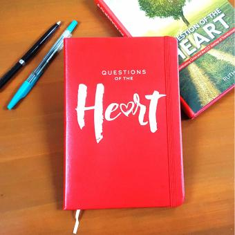 Inspire Gifts of Hope Heart Journal Notebook