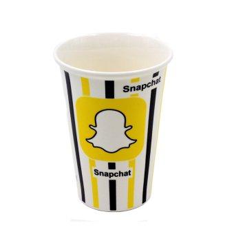 Inspire Snapchat Ceramic Tumbler with Silicone Cap - 2