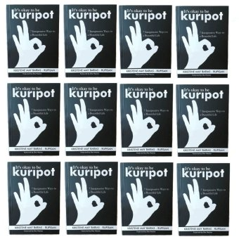 It's Okay to be Kuripot Book It's Okay to be Kuripot (7 Inexpensive Ways to a Beautiful Life) Set of 12