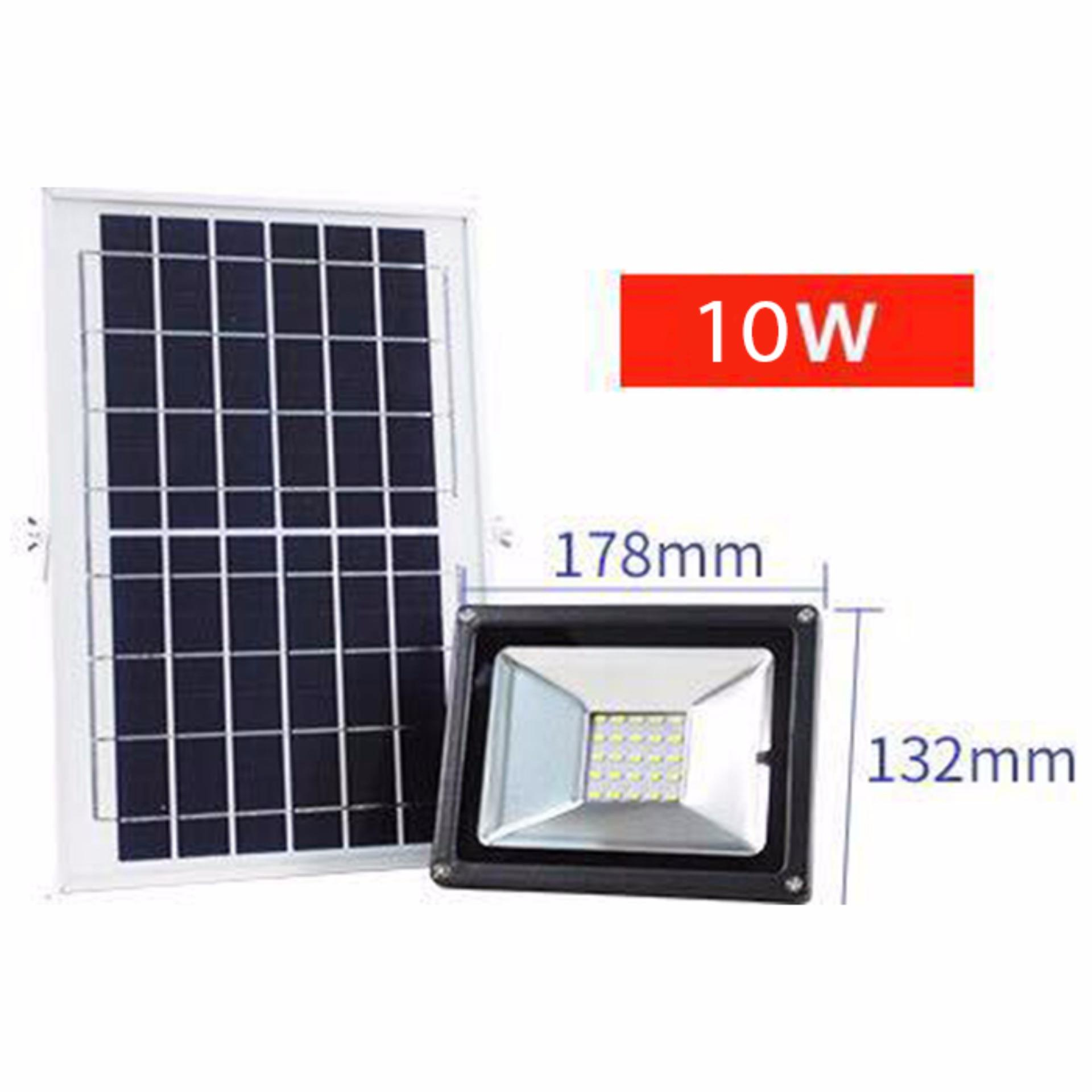 JD-1820 Solar Floodlights Private Street Lamp Without Electricity with High Quality Solar cells (10W)