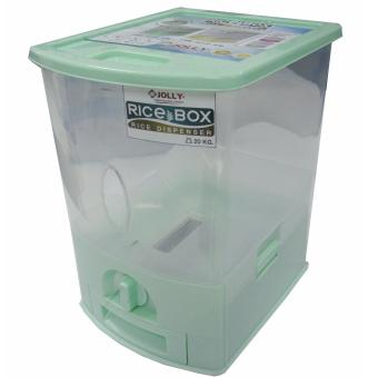 Jolly 20 Kilogram Rice Dispenser #186 Green Price Philippines