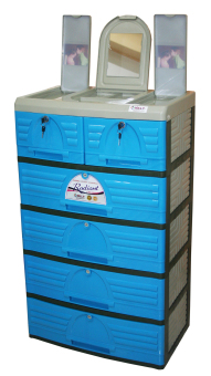 Jolly 5 Layer Drawer (Blue) Price Philippines
