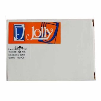 Jolly Laminating Film 65mm x 95mm x 125 micron Set of 1 Price Philippines