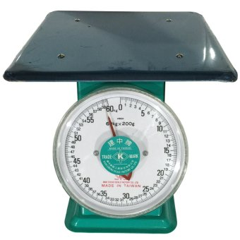 Kain Chung KC-04PL-60KG Heavy Duty 60 kg. Table Scale(Green/Silver)