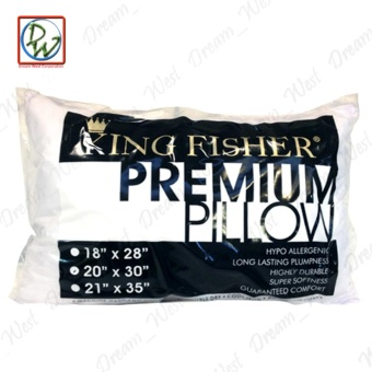 King Fisher Premium Pillow by Canadian (White) - 2