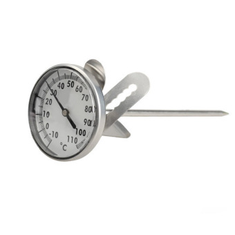 Kitchen Home Stainless Steel Milk Espresso Coffee FrothingThermometer - intl - 2
