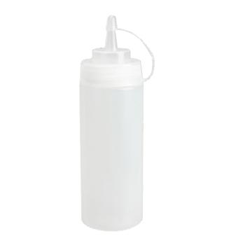 Kitchen Plastic Squeeze Bottle Dispenser 24oz for Sauce Vinegar Oil Ketchup - picture 2