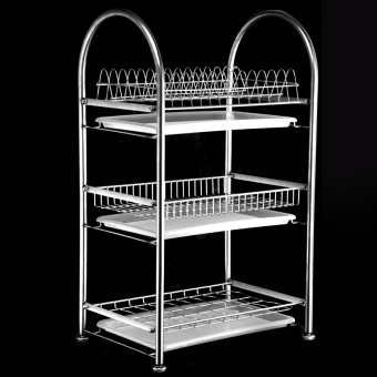 Kitchen Storage shelf bowl dish rack