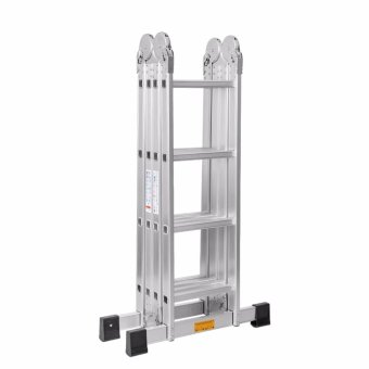 Kruger Aluminum Multi-Purpose Ladder, A14204 (4-8-16 ft)