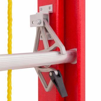 Kruger Fiberglass Extension Ladder, F32810 (10-17 Rungs) - 2