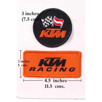 KTM Embroidered Cloth Patch Set -Badge (Get 2) - 4