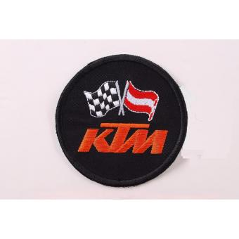KTM Embroidered Cloth Patch Set -Badge (Get 2) - 3