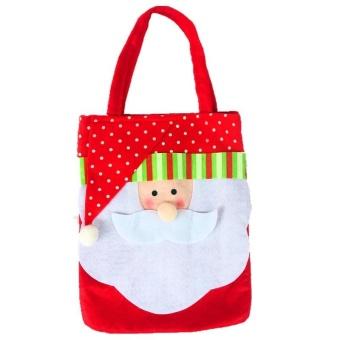 Lan Yu Personalized Christmas Festival Party Toys Cloth Gift Craft Bag Christmas Santa Hot Sales - intl