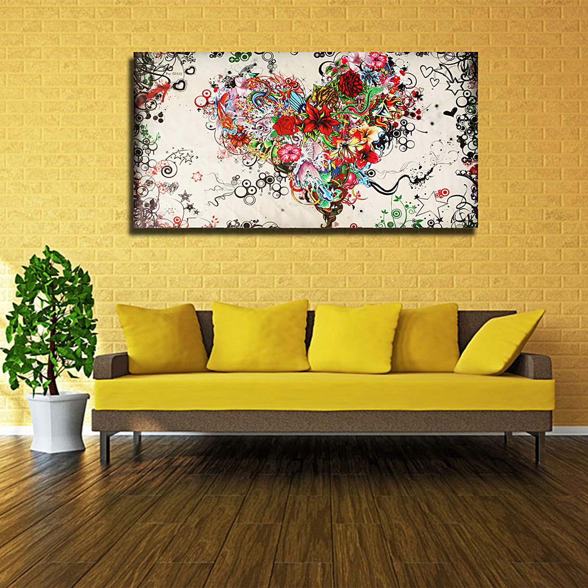 Philippines | Large Modern Abstract hand-painted Art Oil Painting ...