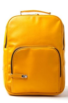 Le Organize Sammies Backpack (Mustard Yellow)