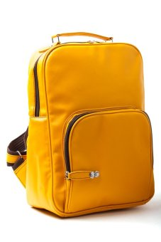 Le Organize Sammies Backpack (Mustard Yellow) - picture 2